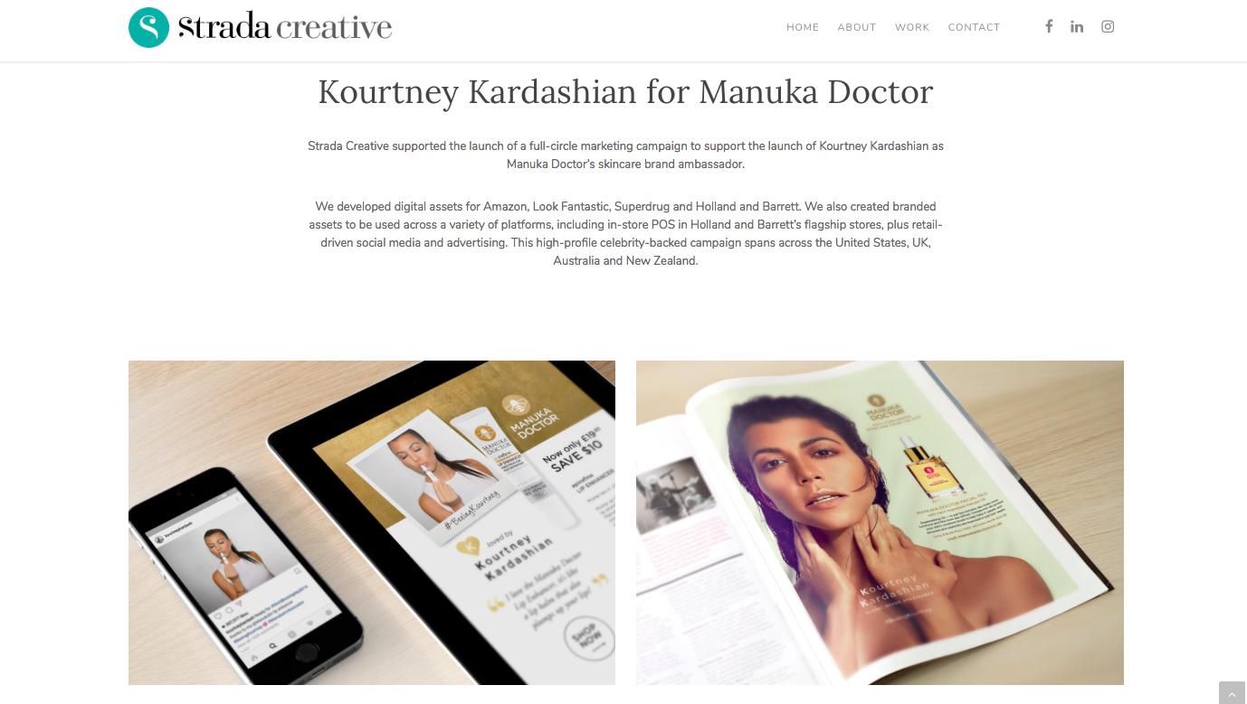 Strada Creative Manuka Doctor