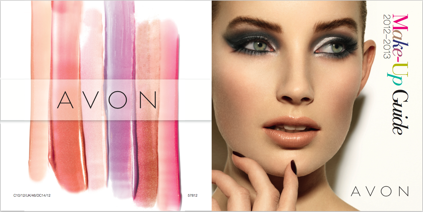 AVON Make-up Guide, written by Becky Pink Copywriter